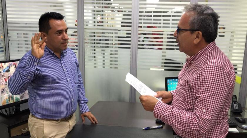 DESIGNADO ALCALDE (E) EN EL MUNICIPIO DEL AGRADO